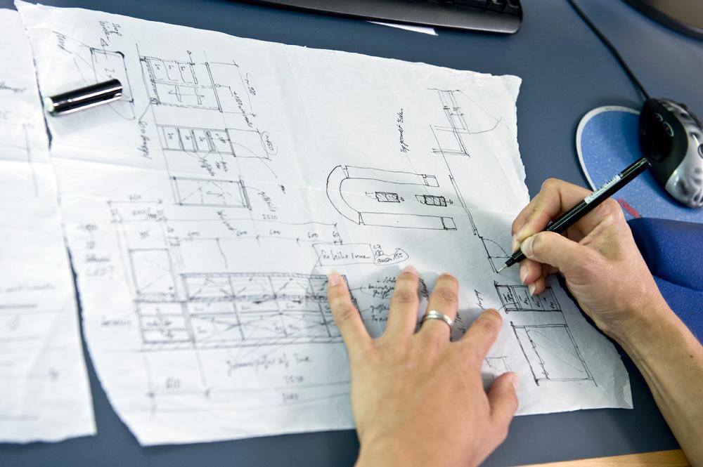 Bilder und film ein kleiner einblick in den berufsalltag for Lehrgang innenarchitektur