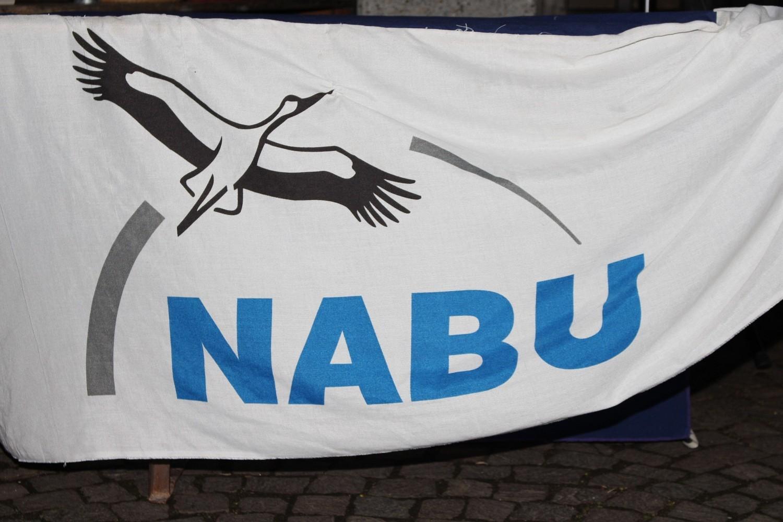 Foto: Rainer Hauenschild: NABU Banner