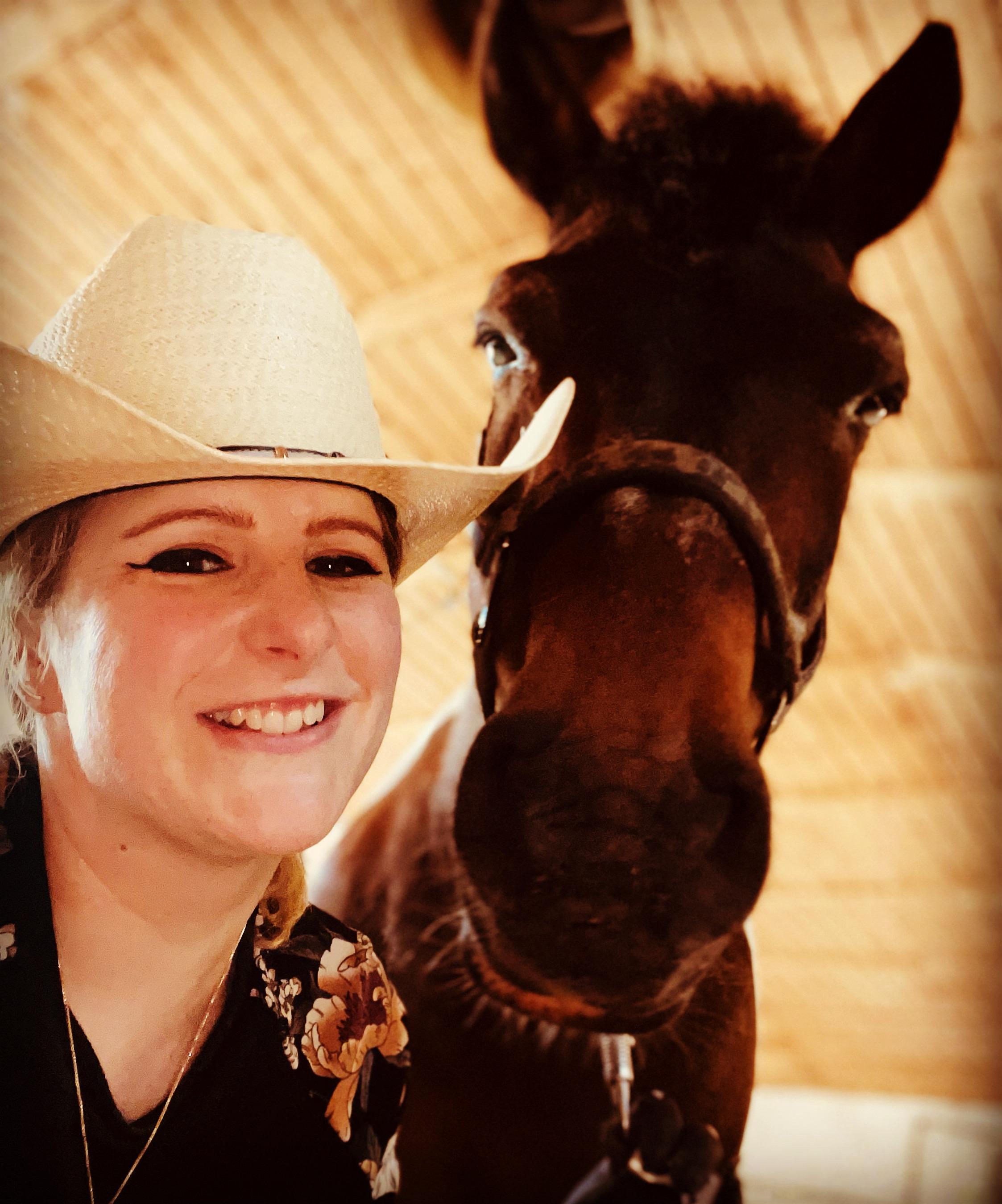 Mein Pferd Cekin und ich
