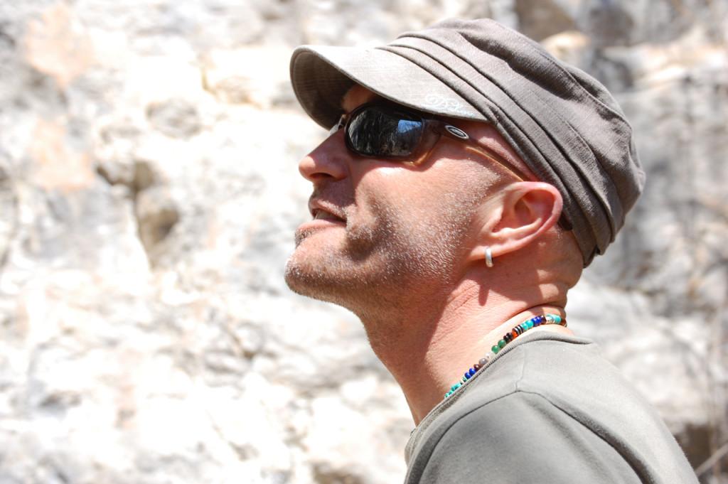 Beim Klettern in Arco