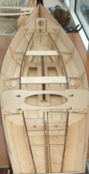 Plywood 6.2m daysailer hull kit