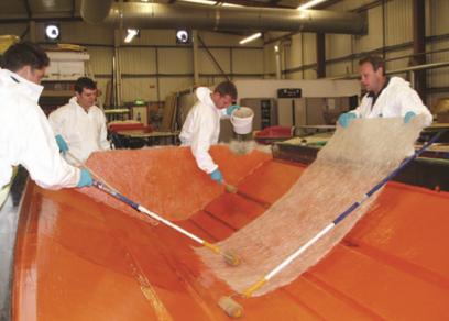 carbon fibre body panels on luxury lightweight sports car