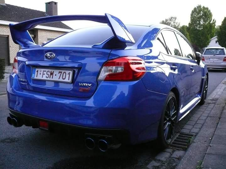 1002 - Subaru /ford - Wrx sti 16/focus rs 2010 -2016