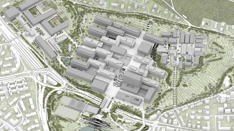 Universität Zurich, Campus Irchel, Andreas Kohne