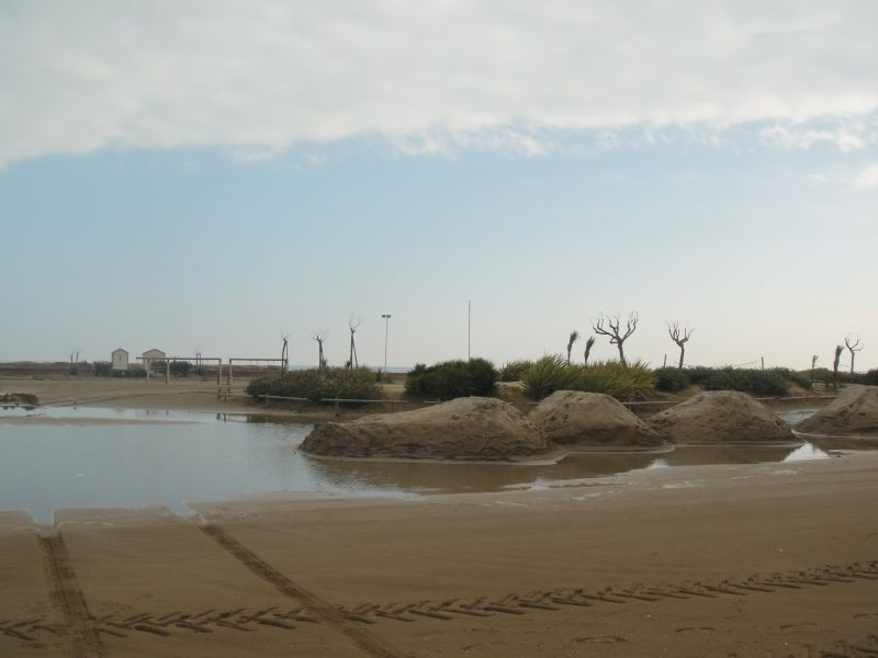 Am Strand von Caorle