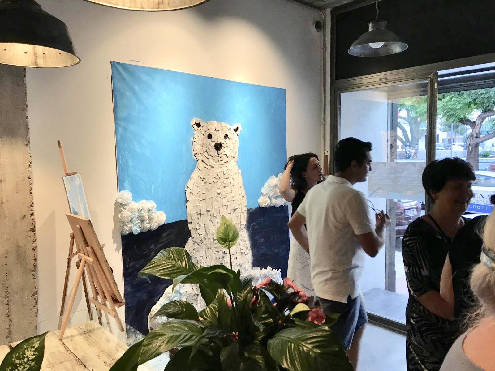 """EXPOSICIÓN Y ENTREGA DE PREMIOS CONCURSO """"MAR DE PLÁSTICO"""" JUNIO 2019"""