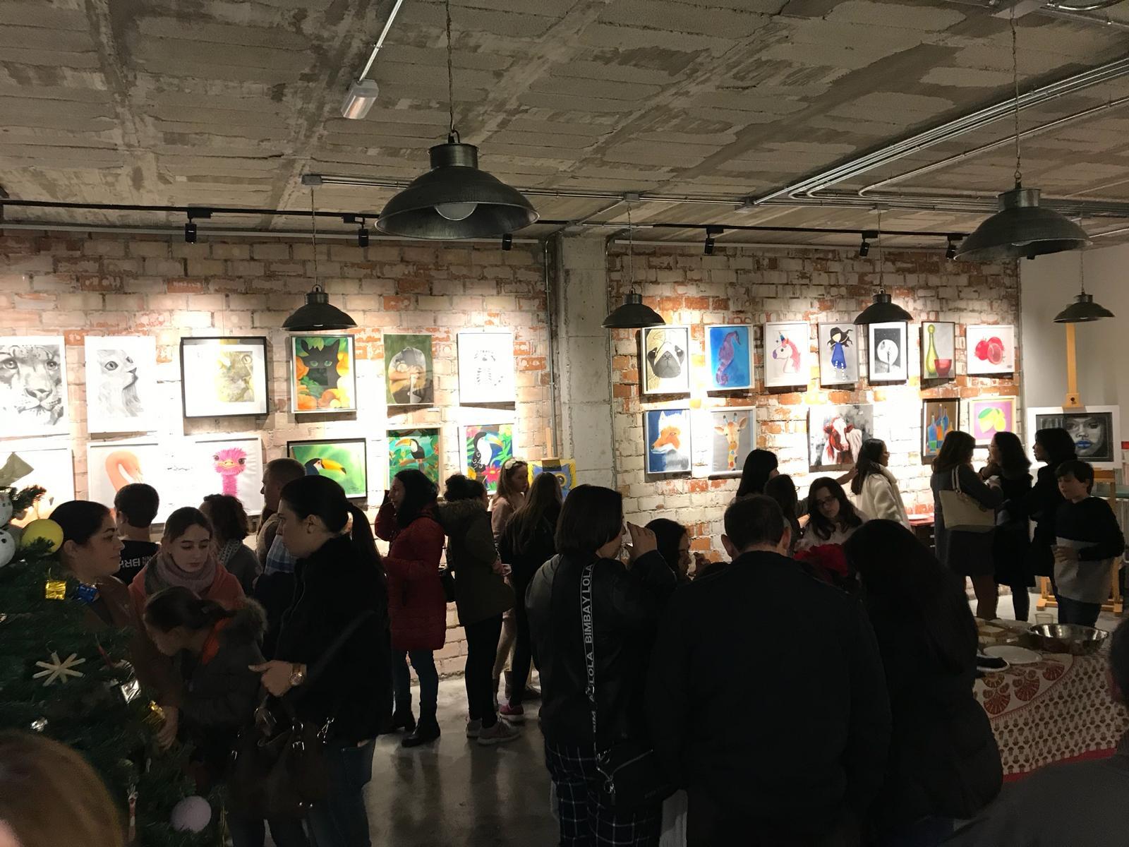 EXPOSICIÓN DE ALUMNOS, DICIEMBRE 2018