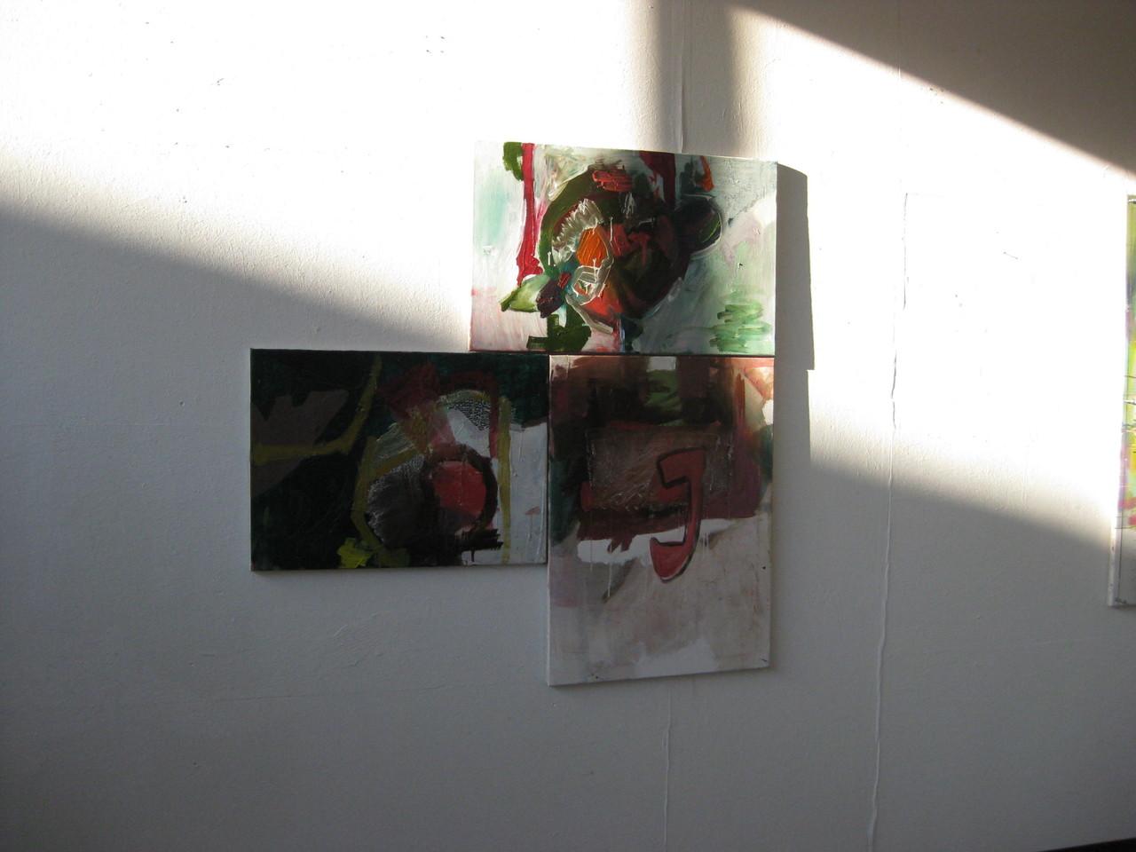 Ausstellungsansicht Transformationen des Geschehens, Artists in Residence (Foto: Giorgos Gerontides)