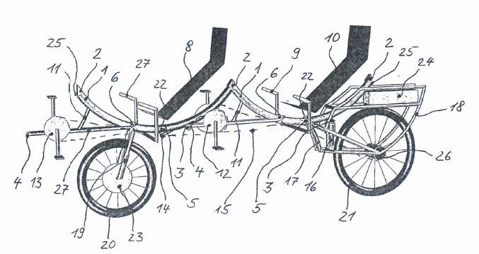 Patent DE 10 2014 008 792.1_TWOgether Bikes_Karl-Heinz Eichhorn