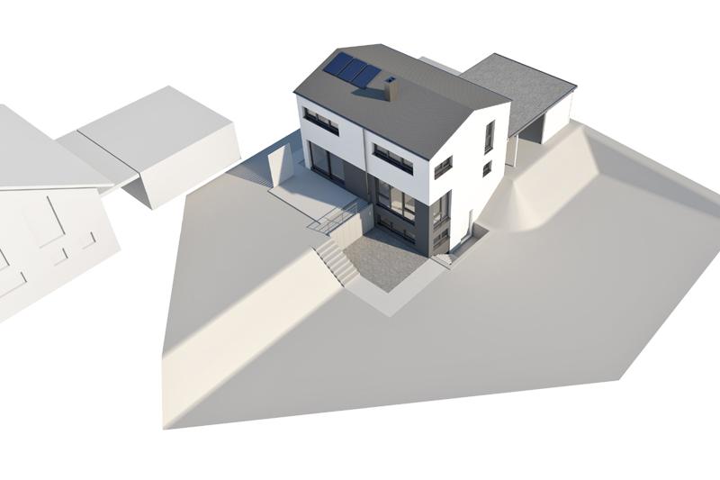 Einfamilienhaus Neubau - Architekten Fürst/Wetteskind