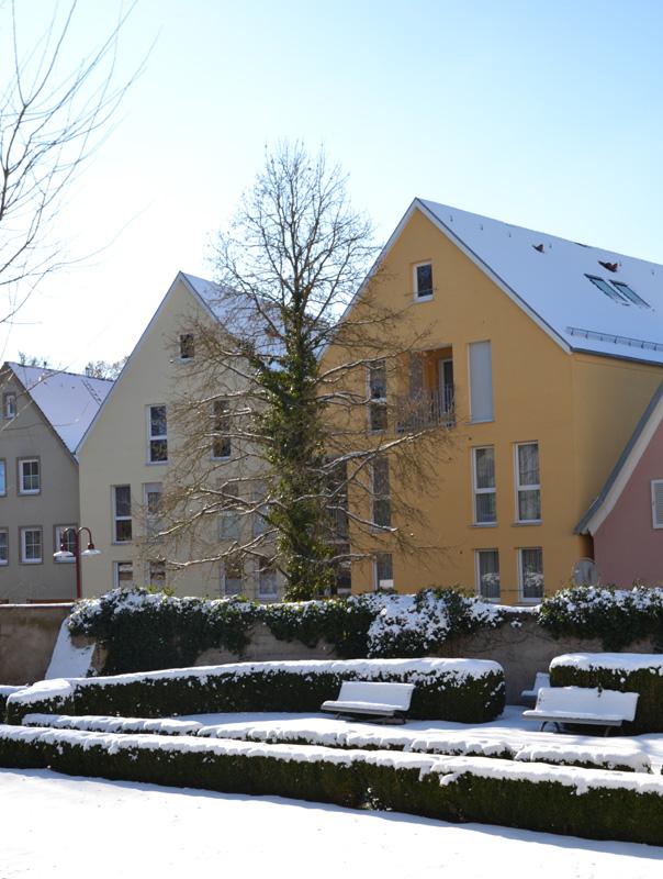 Integriertes Mehrfamilienhaus - Architekten Fürst/Wetteskind