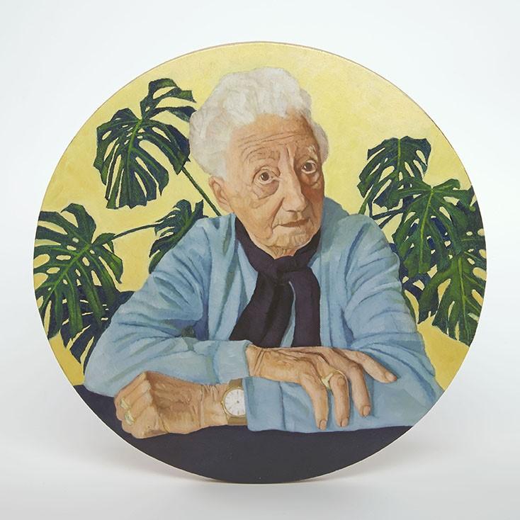Marie-Jose Spreeuwenberg: 'Mama (groene vingers)'