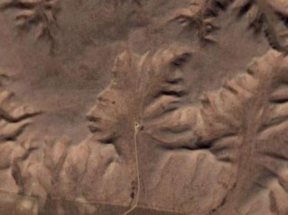 "Bei ""Medicine Hat"" in Alberta, Canada - Google Earth, 50° 0'38.20""N 110° 6'48.32""W"