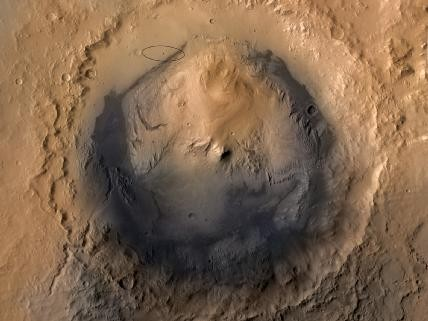Als Landeregion wurde nach einer fünfjährigen Beurteilungsphase der Gale-Krater aus über 100 betrachteten Zielen ausgewählt. Der Gale Krater hat einen Durchmesser von 154 km. Mount Sharp in der Mitte des Kraters ist 5.500 m hoch.