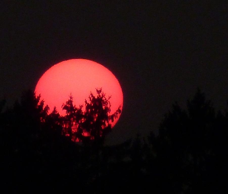 Farbenprächtiger Sonneuntergang II