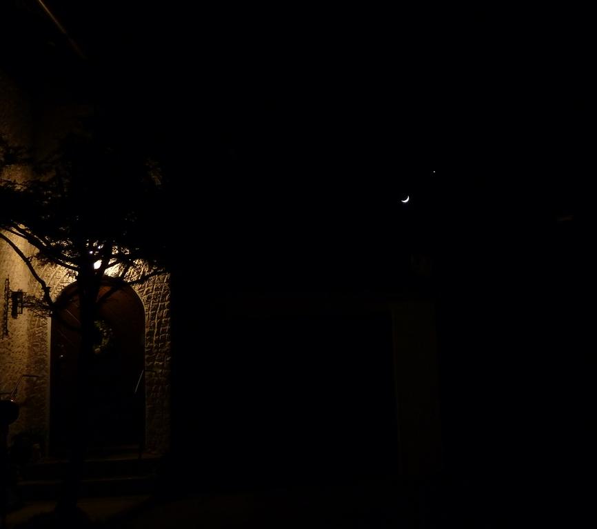 Venus und Mond