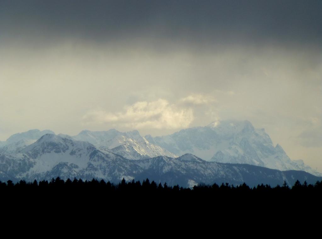 Zugspitze von Jasberg aus gesehen