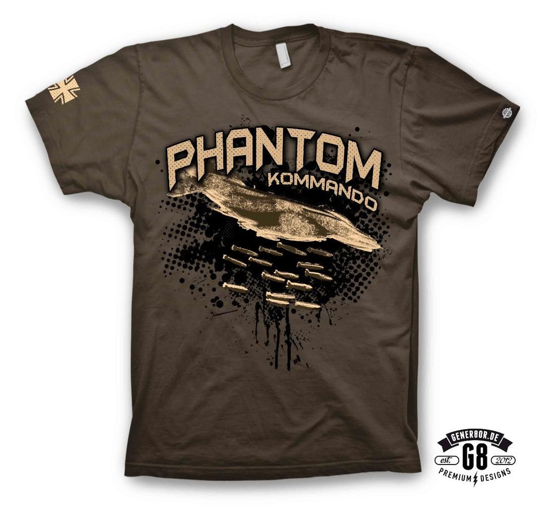 T Shirts With Designs | Phantom Kommando T Shirt T Shirt Design Nach Kundenwunsch