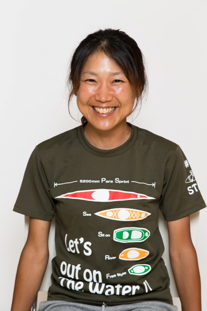 上岡央子,事務局兼マネージャー,日本障害者カヌー協会