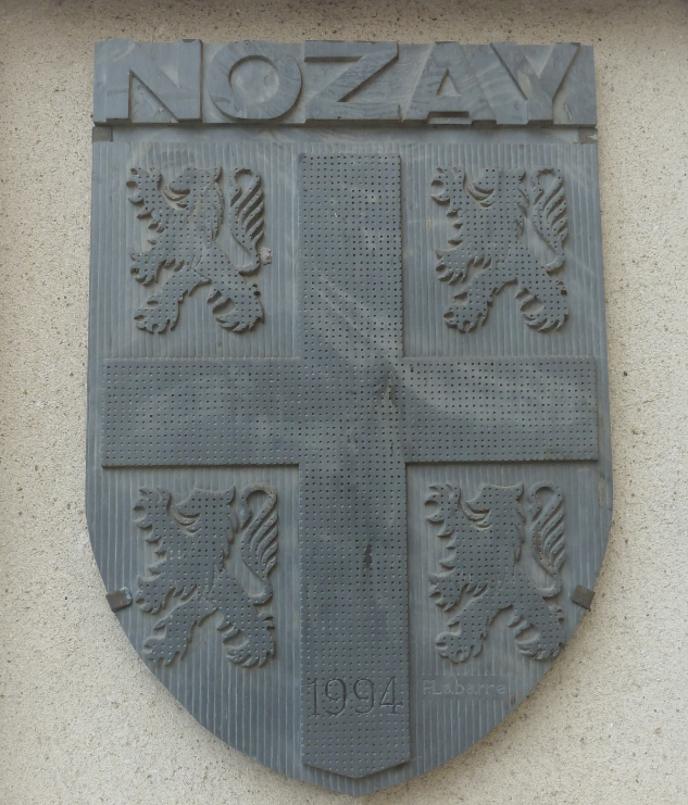 Ecusson de Nozay - P.Labarre