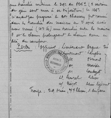 Document militaire