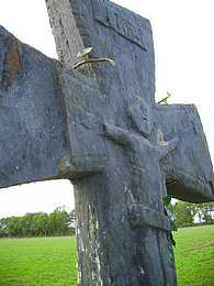 Christ sur une croix