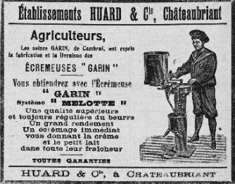 Courrier de Châteaubriant du 6-1-1923