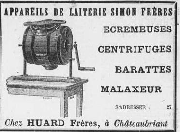 Journal de Châteaubriant  du 26-4 1902
