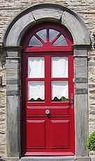 claveau d'une porte