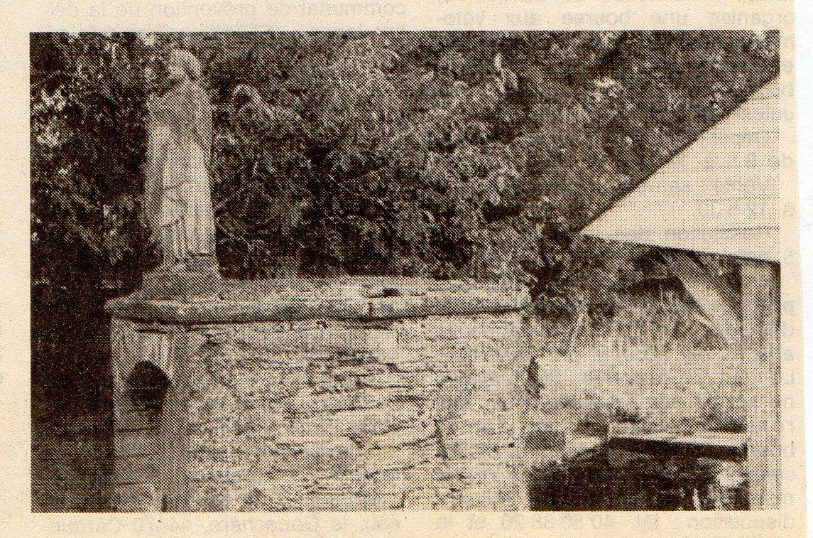 La fontaine St Pierre