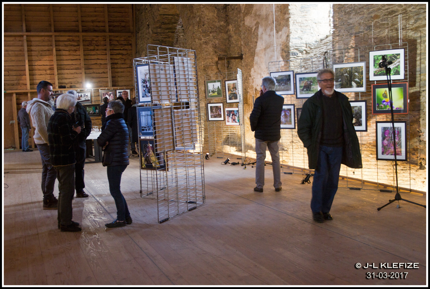 Vernissage expo photo d'Alain Bourdeau