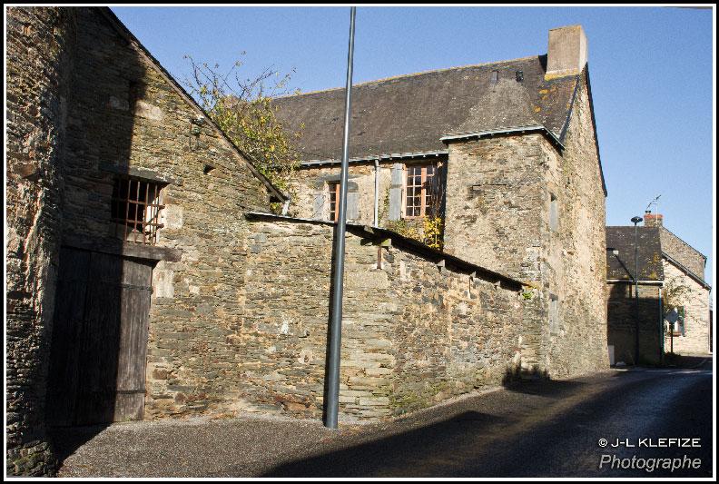 L'ancien presbytère (Rue Saint Saturnin)
