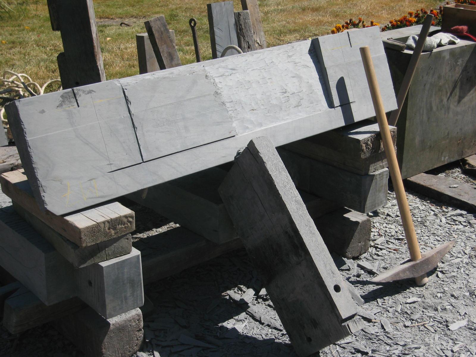 Le travail de la pierre