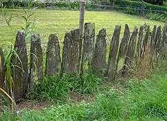 Clôture de palis