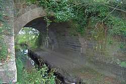 pont : arche en berceau