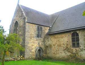 L'église (transept nord)