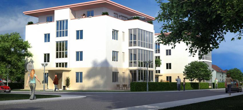 Neubau Wohnanlage 14 WE mit Tiefgarage in Neuenburg am Rhein / Vasteco Bau GmbH