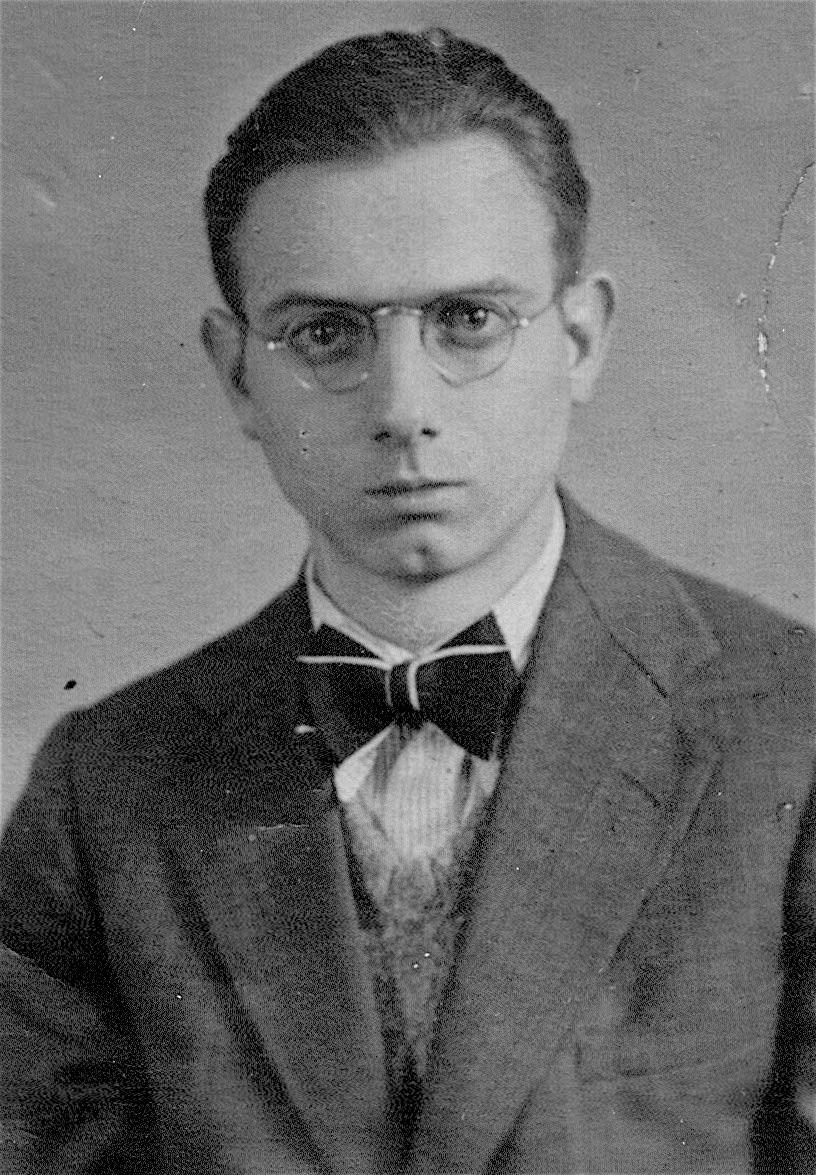 JH  als Oberschüler ca. 1936