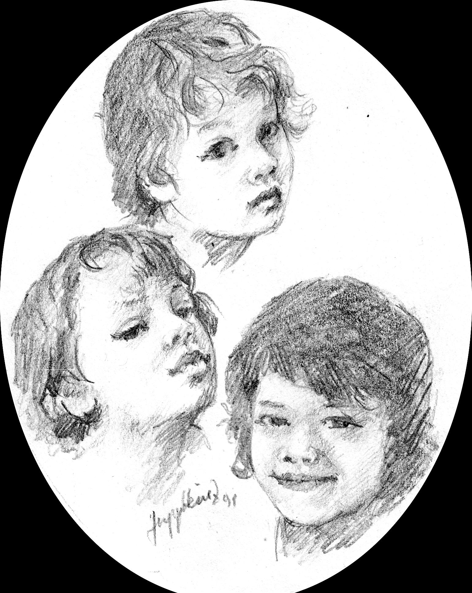 Portrait der Enkel 1991