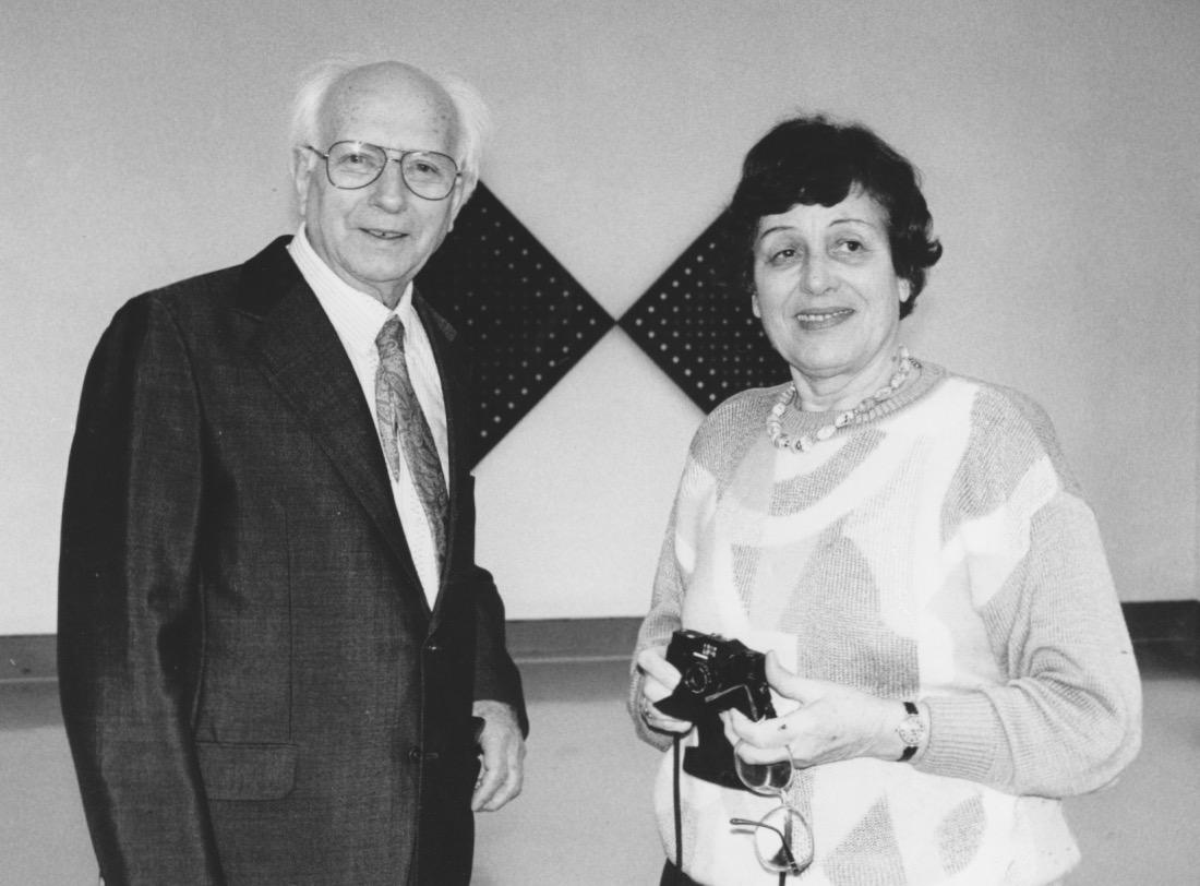 JH mit Ehefrau Doris 1992