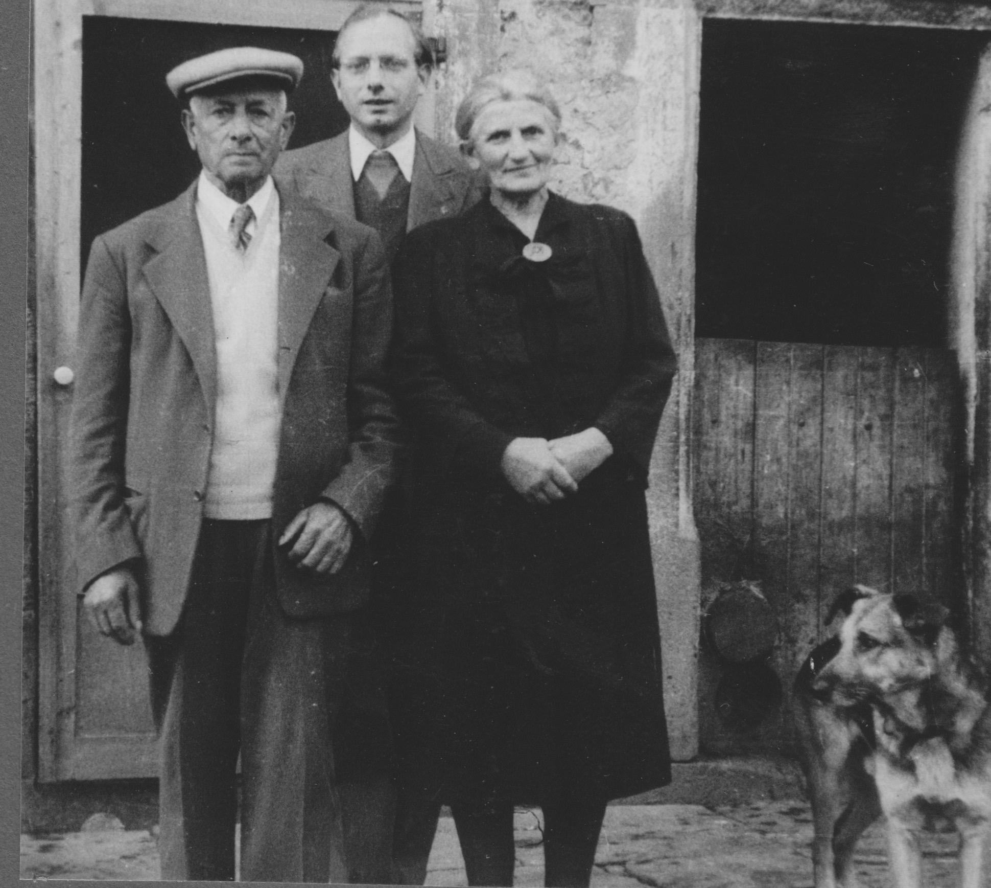 JH mit Eltern in Binsfeld
