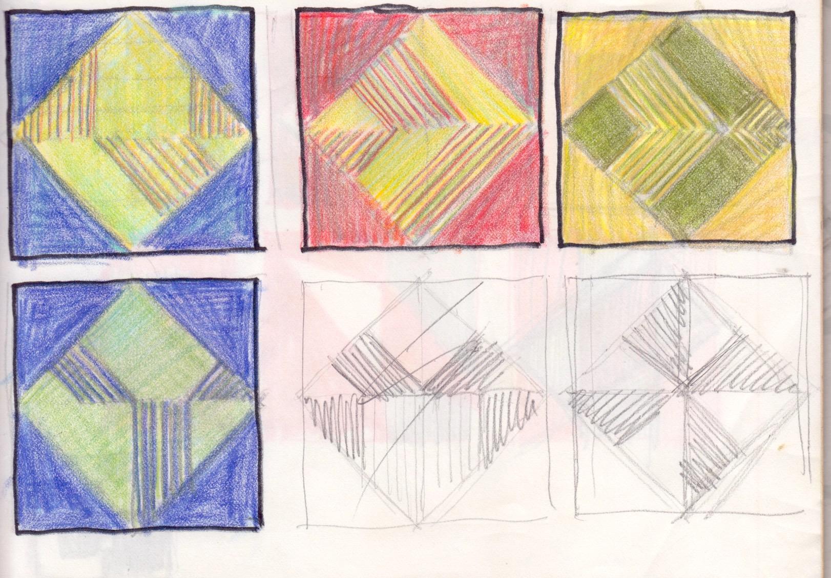 Entwurf Formen ca. 1983