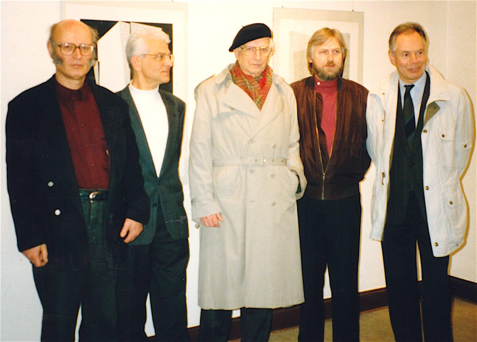 Künstlergruppe Bonn: Pitzen, Baars, JH, Heertz, Ulbrich