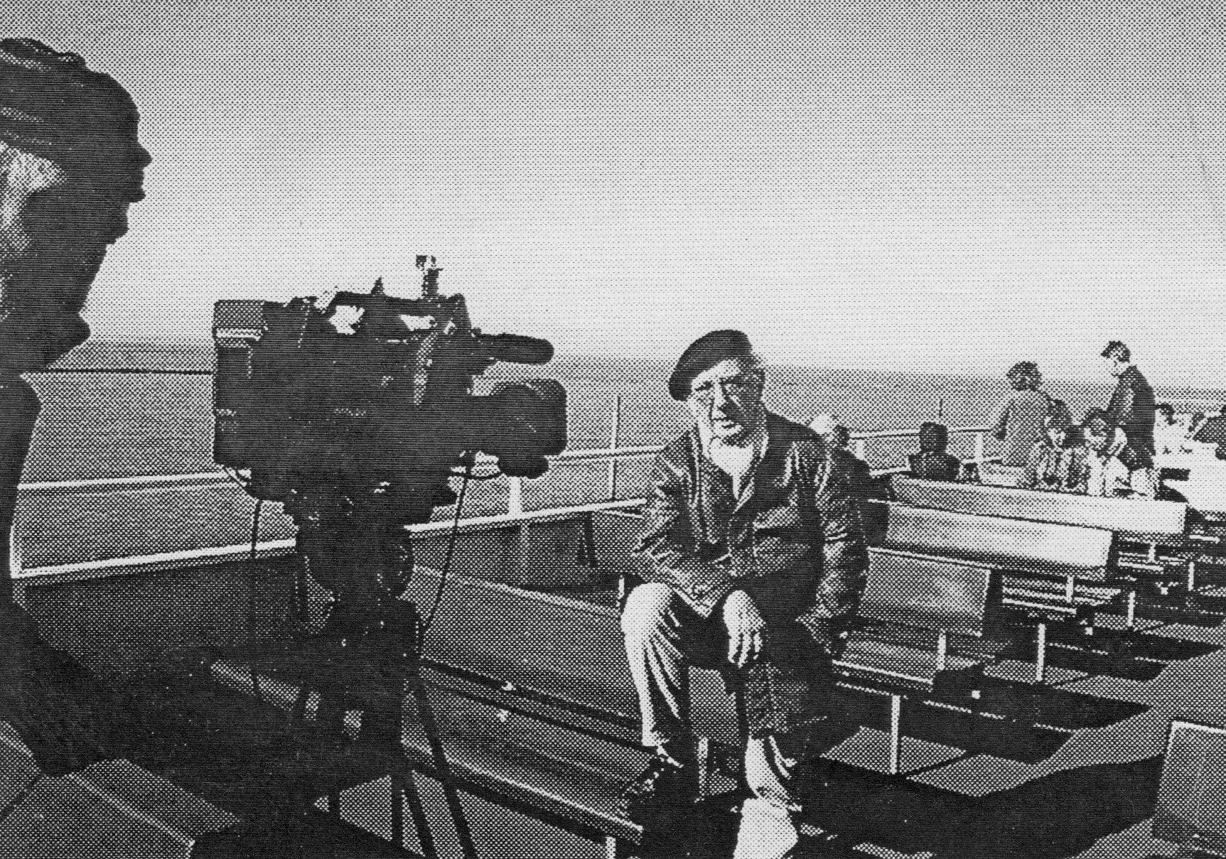 Dreharbeiten zur TV Dokumentation H.J. Martin