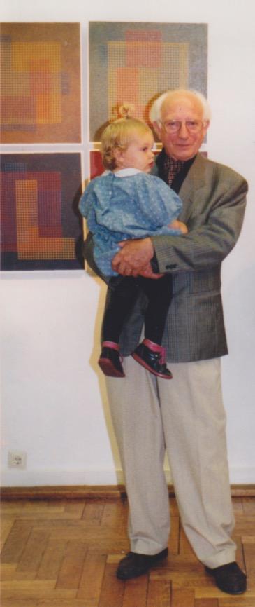 JH mit Enkelin Donata