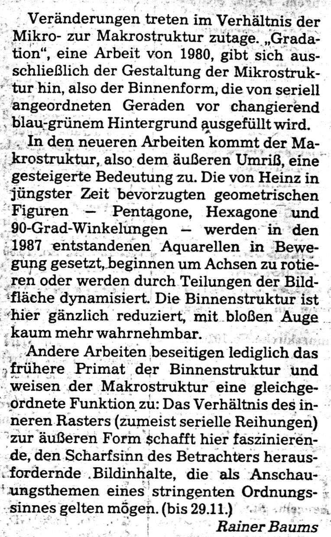 Bonn, General-Anzeiger 1987