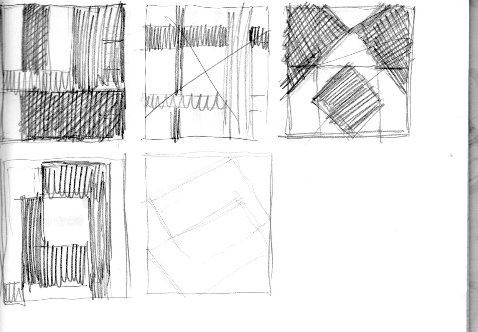 Entwurf Formen ca. 1981