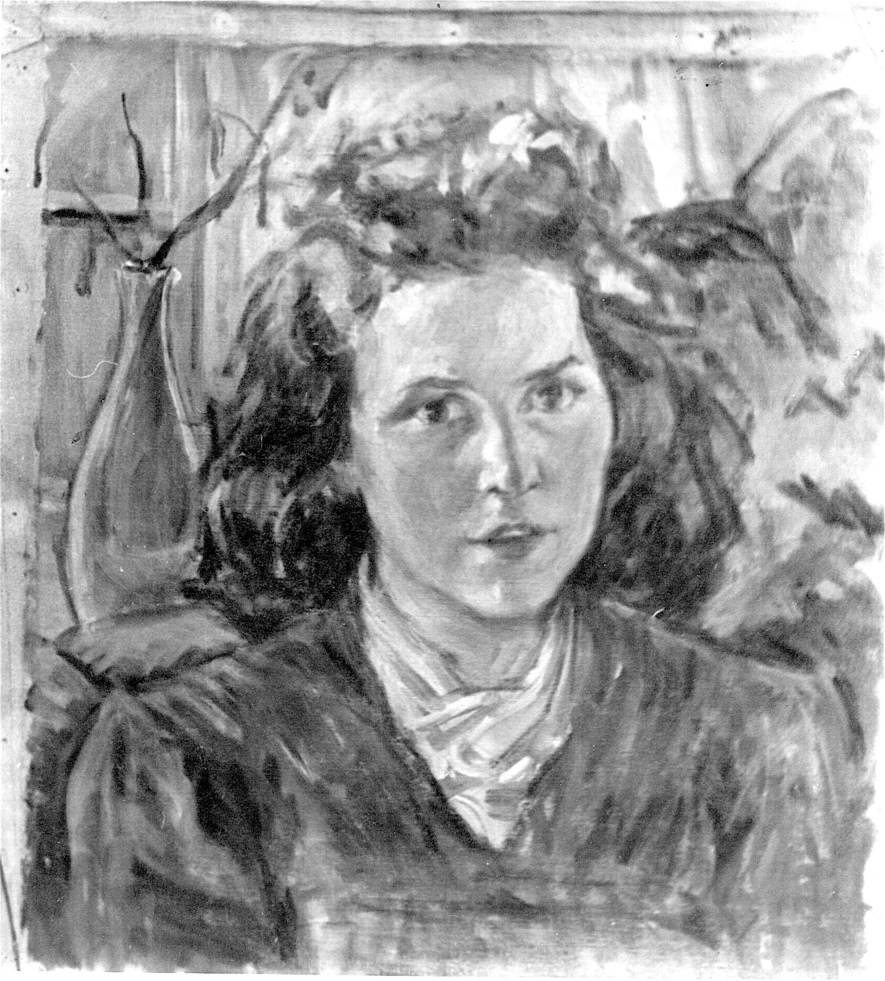 Portrait junge Frau ca. 1942