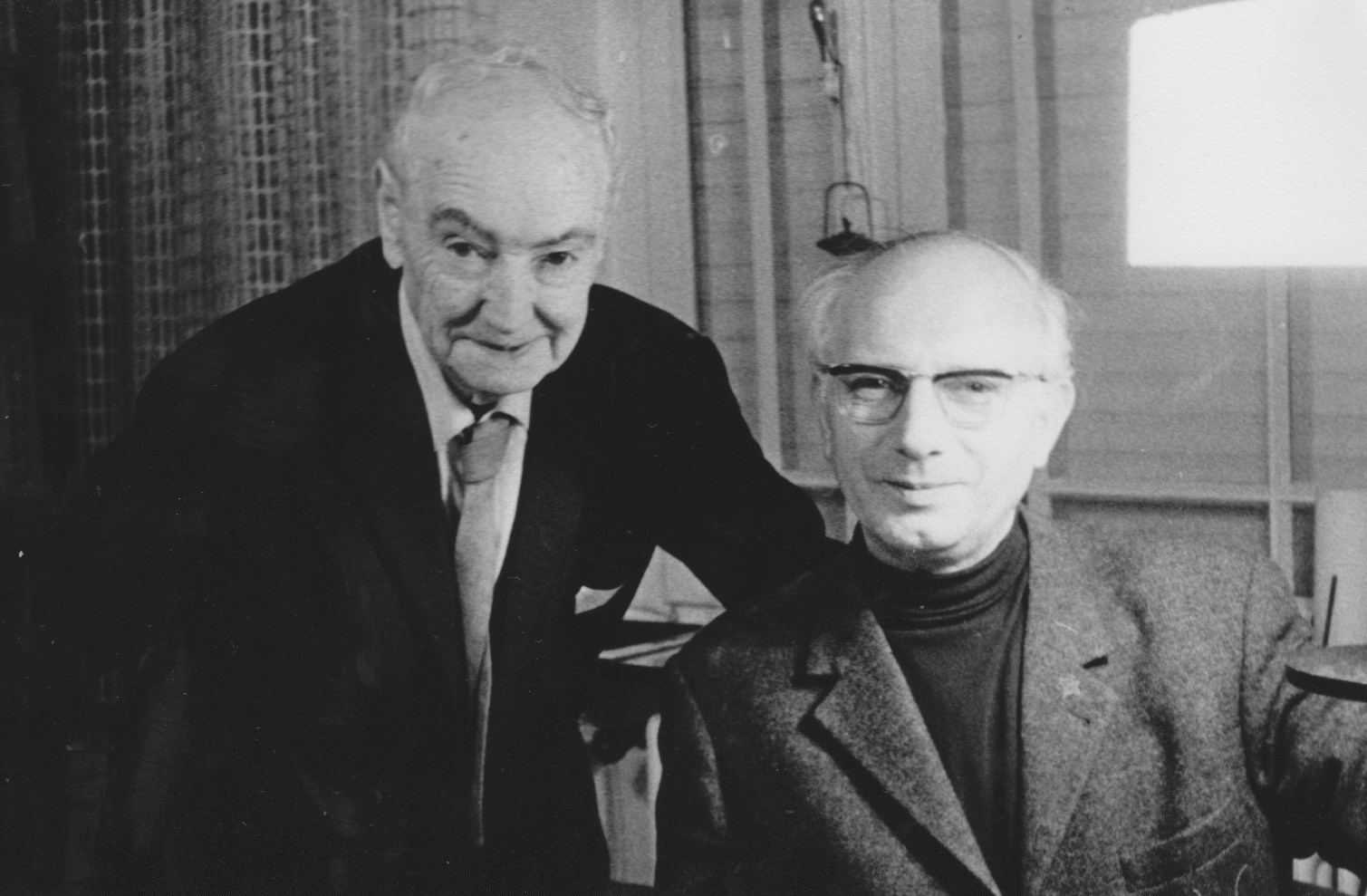 JH mit Leo Breuer