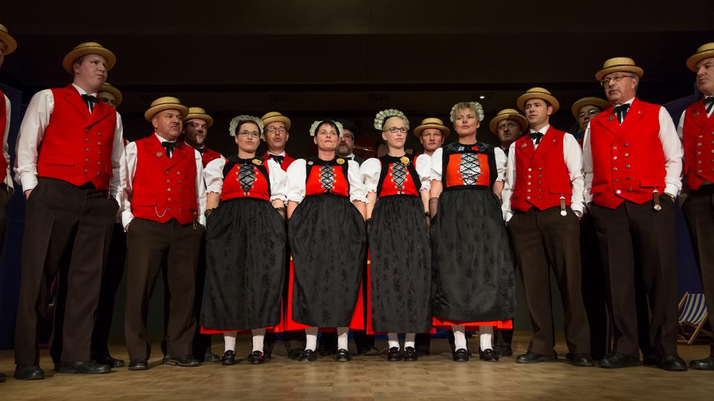"""2015: Jodlerklub """"Echo vom Bärgli"""", Rechthalten"""